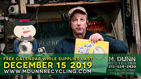 Scrap Metal Prices Philadelphia December 15, 2019  Get your FREE 2020 Calendar and the reason there is a difference in price between #1 & #2 Copper