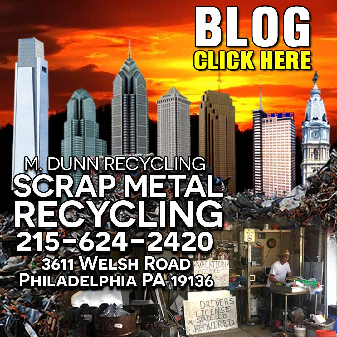 Recycle Aluminum Cans in Northeast Philadelphia BEST VALUE FOR YOUR ALUMUNIMUM M. DUNN RECYCLING  money for copper aluminum radiators, aluminum chrome wheels, aluminum cans, aluminum extrusions