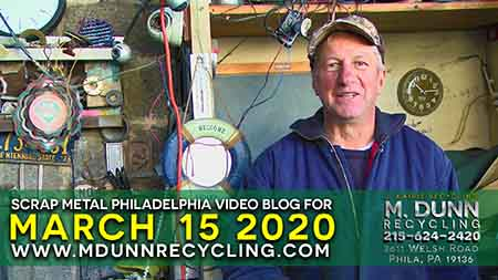 Scrap Metal Prices Philadelphia March 15 2020 Get your FREE 2020 Calendar and how to test to see if metal is Brass or Die Cast, plus prices for December 22, 2019 Happy Holiday