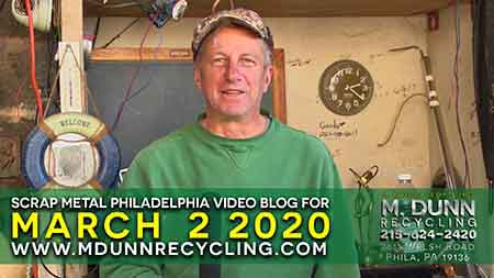 Scrap Metal Prices Philadelphia March 2, 2020 Get your FREE 2020 Calendar and how to test to see if metal is Brass or Die Cast, plus prices for December 22, 2019 Happy Holiday