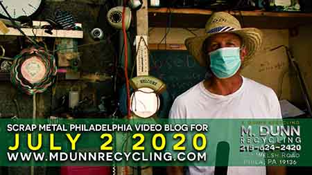Scrap Metal Prices Philadelphia March 22 2020 Get your FREE 2020 Calendar and how to test to see if metal is Brass or Die Cast, plus prices for December 22, 2019 Happy Holiday