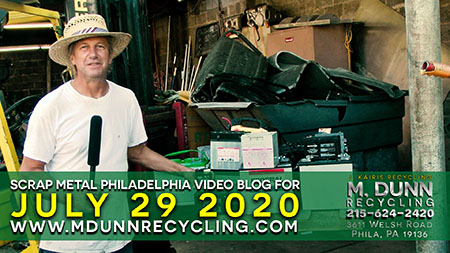 Scrap Metal Prices Philadelphia July 29, 2020  Philadelphia Scrap Metal Prices 7-29-20 at M. Dunn Recycling. This week's blog we talk about recycling lead batteries and the different types we accept